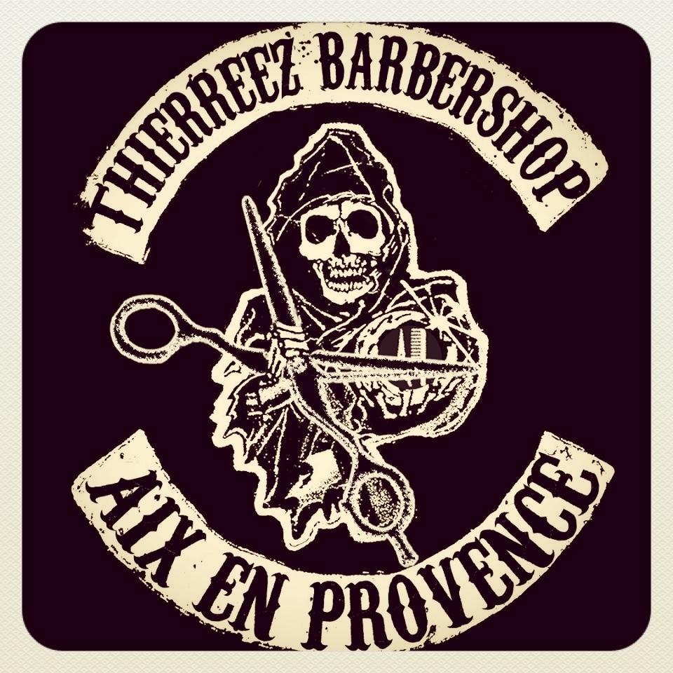 Thierreez barbershop sons of anarchy thierreez barbershop salon de coiffure mixte coiffeur - Barbier salon de provence ...