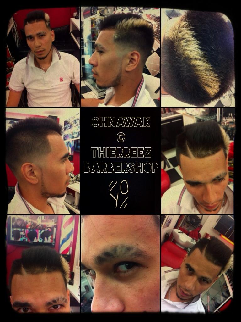 Chnawak thierreez barbershop thierreez barbershop salon de coiffure mixte coiffeur et - Barbier salon de provence ...