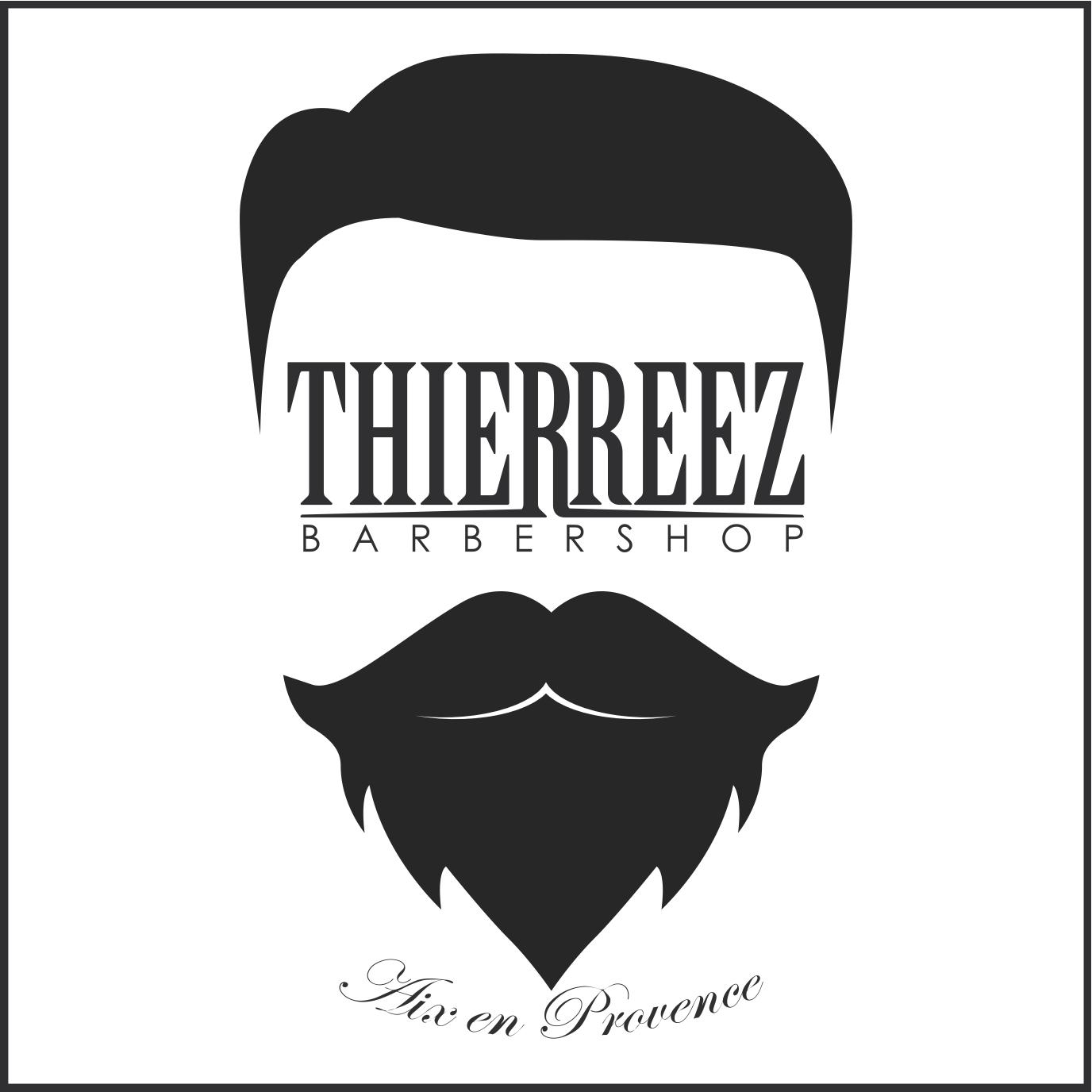 Thierreez barbershop logo thierreez barbershop salon de coiffure mixte coiffeur et barbier - Barbier salon de provence ...