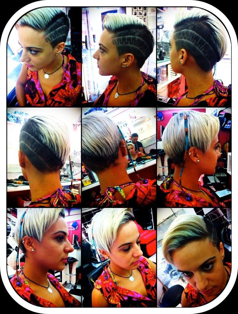 Coupe femme thierreez barbershop salon de coiffure mixte coiffeur et barbier aix en provence - Barbier salon de provence ...