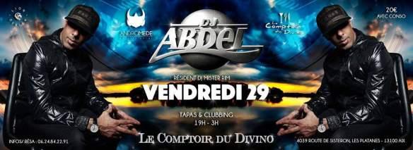 DJ ABDEL COMPTOIR DU DIVINO